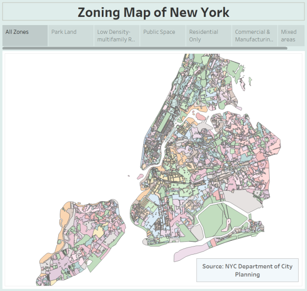 Zoning Map of New York City